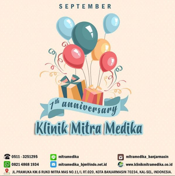 Proudly celebrate our 1st year of Mitra Medika