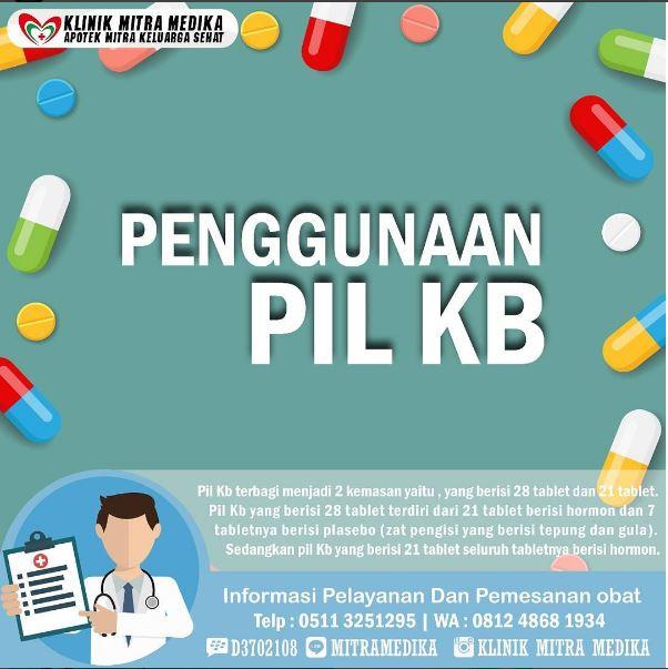 Penggunaan Pil KB