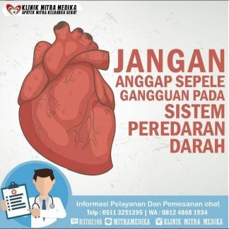 Beberapa Gangguan pada Sistem Peredaran Darah